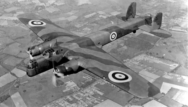 Armstrong Whitworth Whitley Mk V P4946