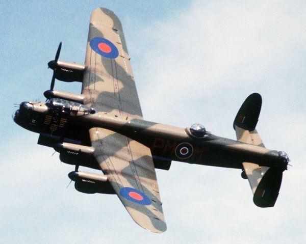 Avro Lancaster Mk. I W4762