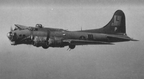 Boeing B-17GSH 42-3486, Invictus