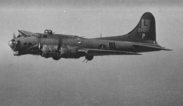 Boeing B-17G, 42-39856, Wacky Woody