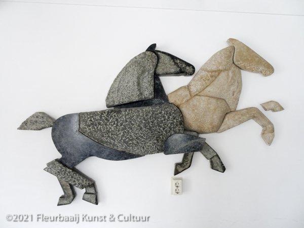 Dravende paarden
