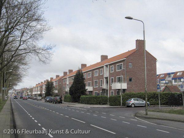 Flatgebouwen Lange Dreef