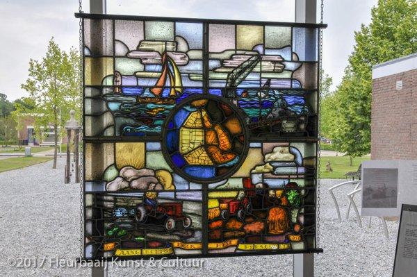 Glas-in-loodraam N.V. Gorter