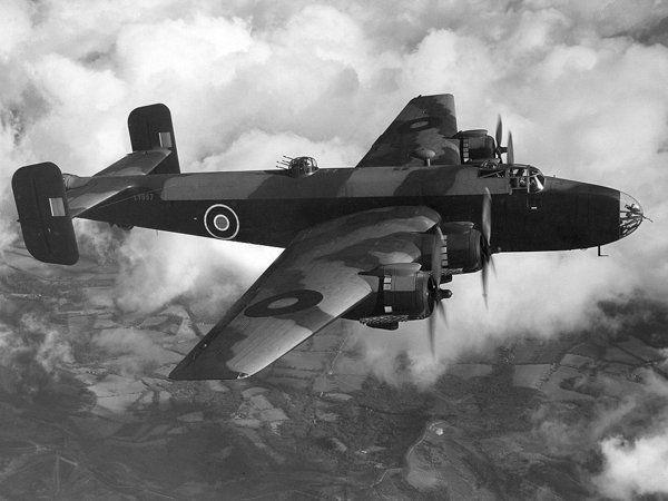 Halifax B.Mk II. HR731