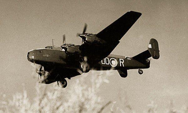 Halifax B.Mk.V DG405