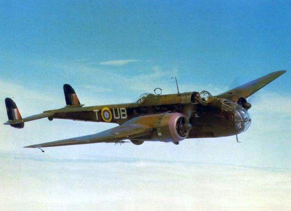 Handley Page Hampden Mk.I P4368