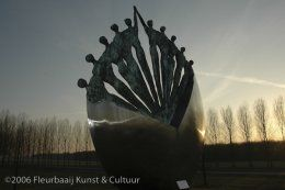 Kunst in de openbare ruimte in Flevoland