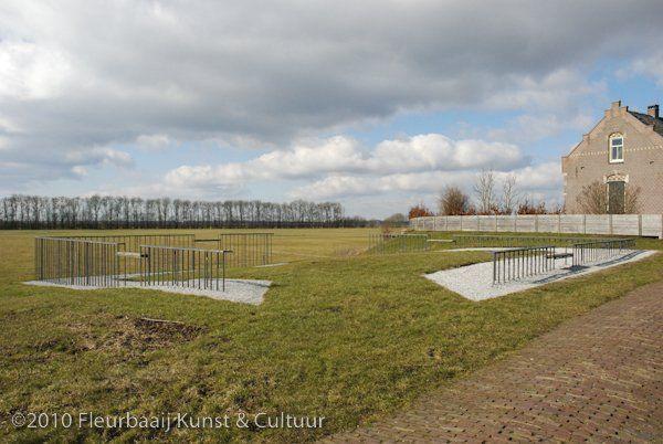 Markering begraafplaats Emmeloord
