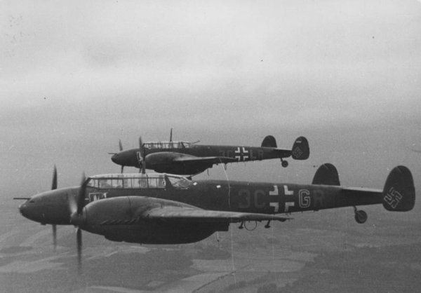 Messerschmitt Bf 110C-4,  2273