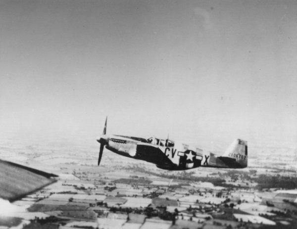 Mustang P-51B-10-NA 42-106693