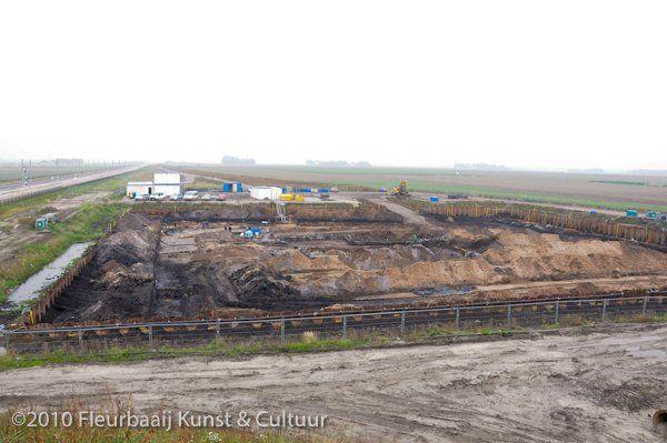 Opgraving prehistorisch duin
