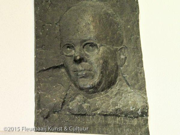 Portretreliëf dokter J.H. Jansen