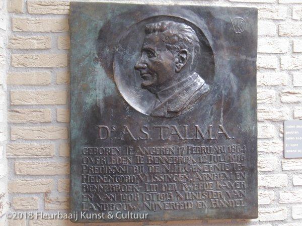 Portretreliëf ds. A.S. Talma