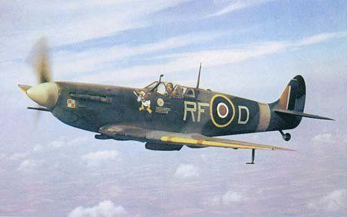 Supermarine Spitfire Mk IX BS534