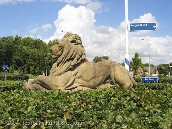 Twee leeuwen