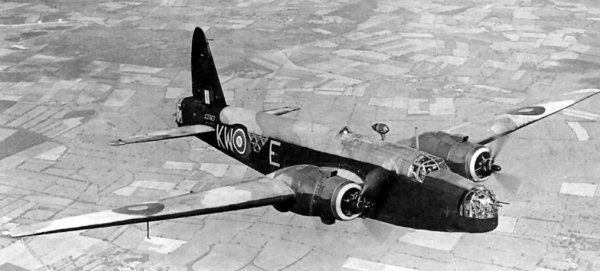 Vickers  Wellington Mk IV Z1204