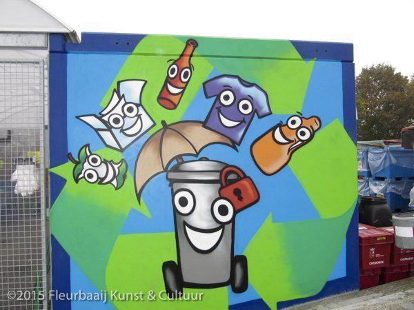 Wandschildering KCA-depot
