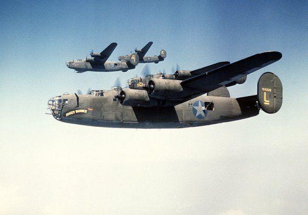 B-24H Liberator, 42-7638, Big Banner